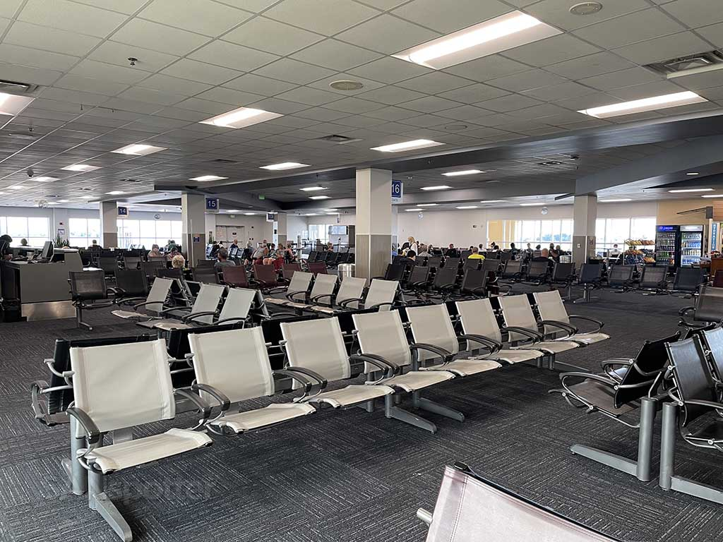 Sanford Airport terminal gates
