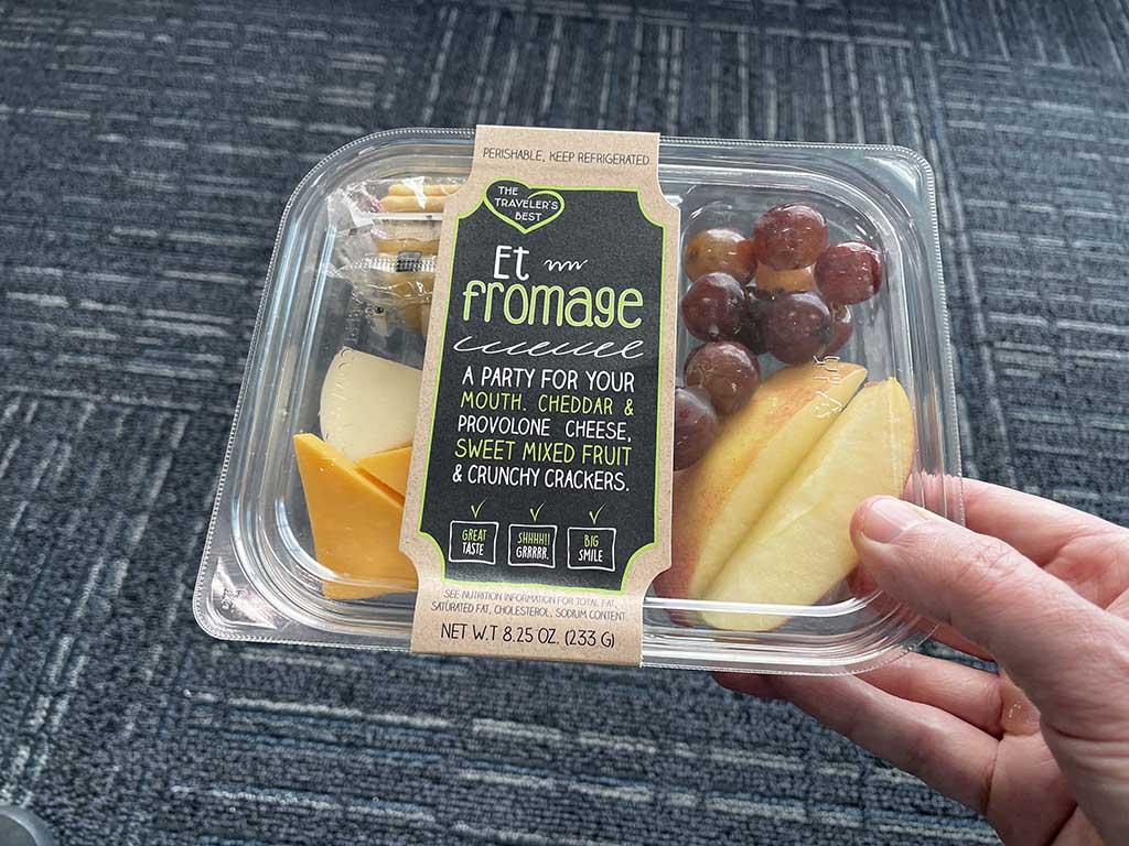 Sanford Airport food