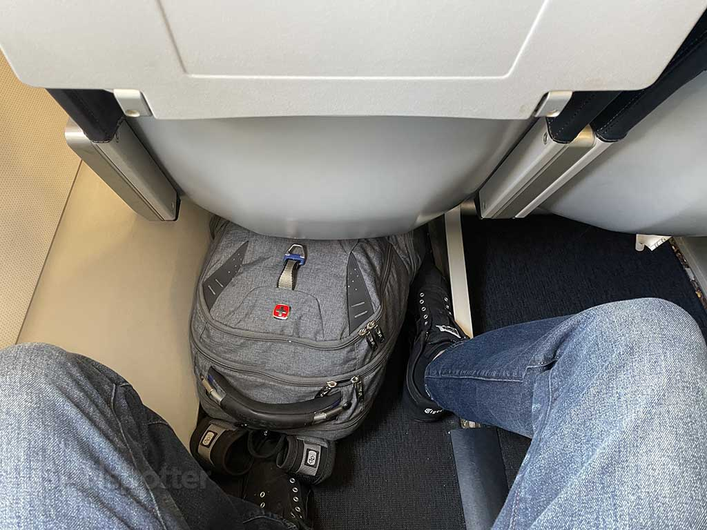 Small allegiant air seats