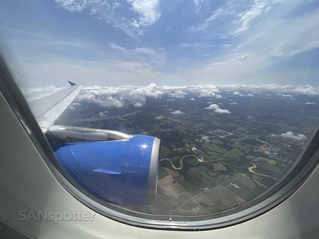 Flying over Oklahoma City