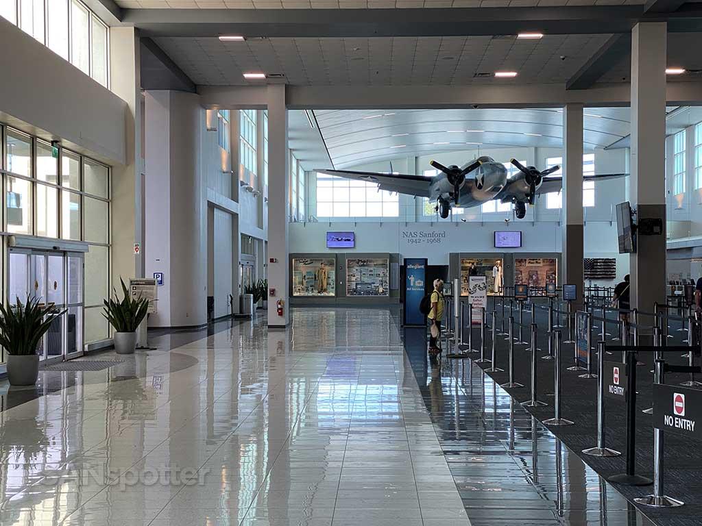 Sanford International Airport check in