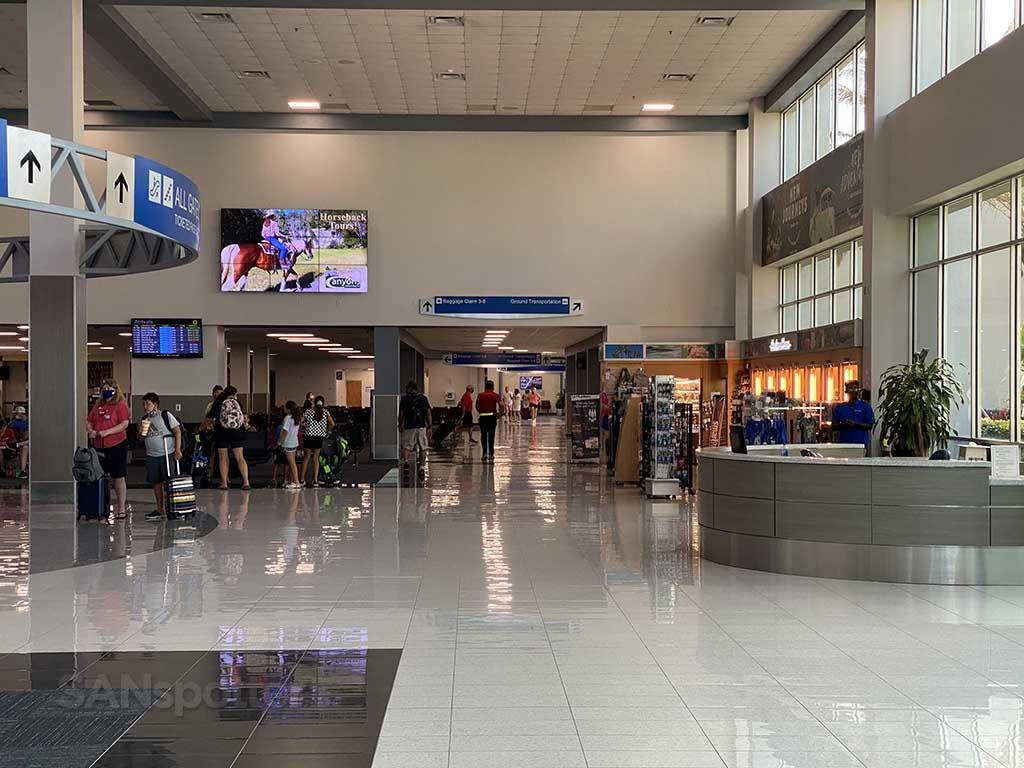 Sanford airport interior