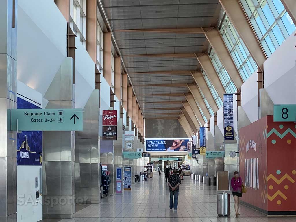 Oklahoma City Airport interior