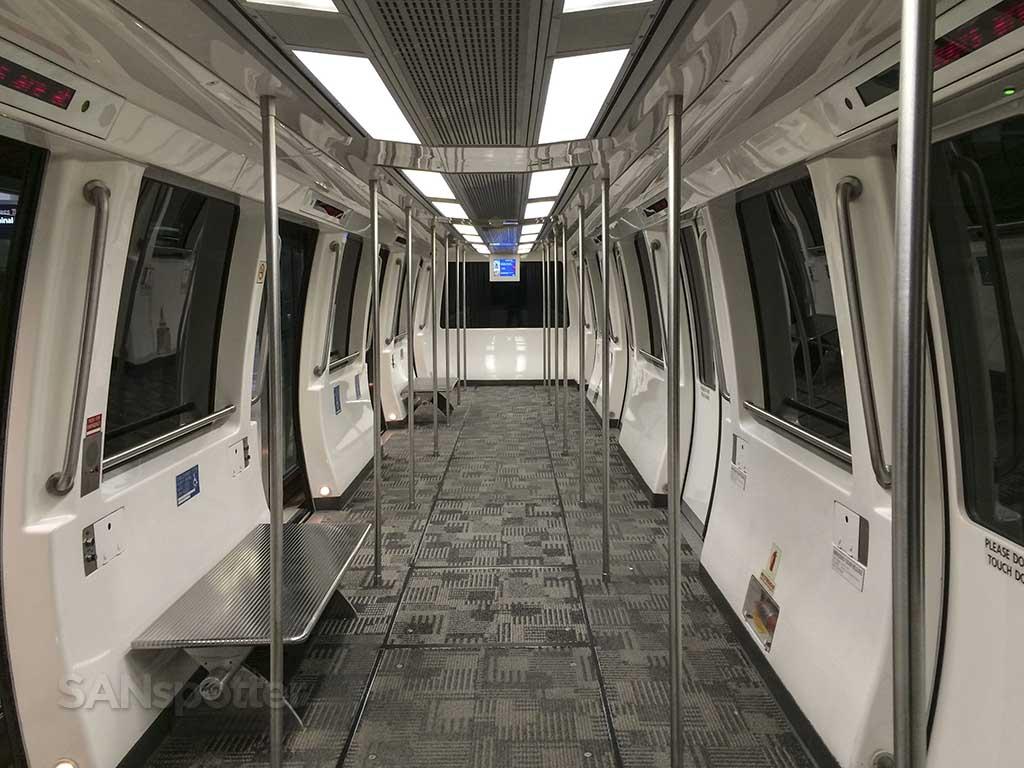 DTW train concourse A
