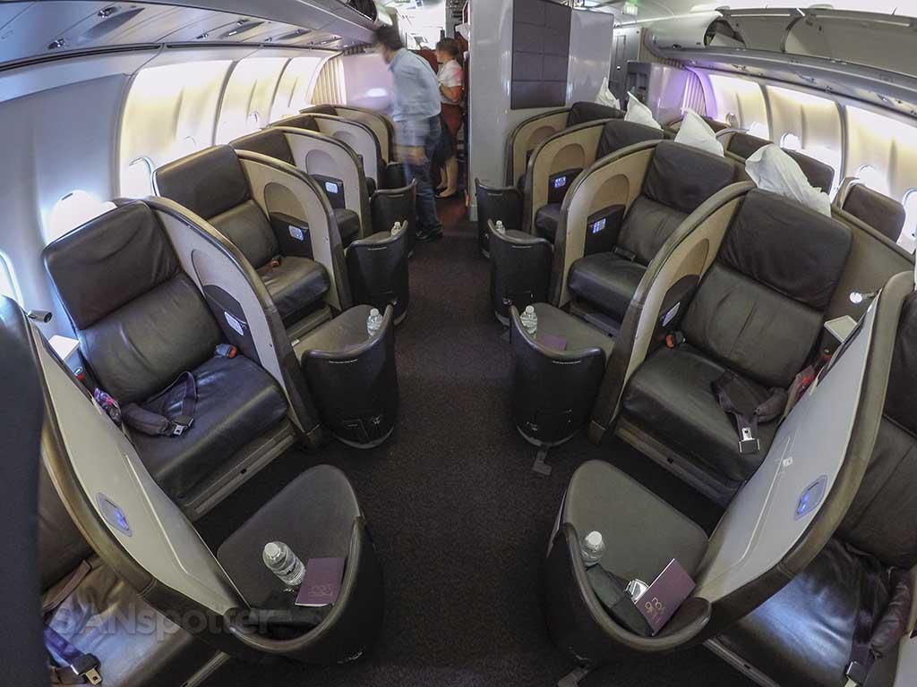 Virgin Atlantic Upper Class seats.