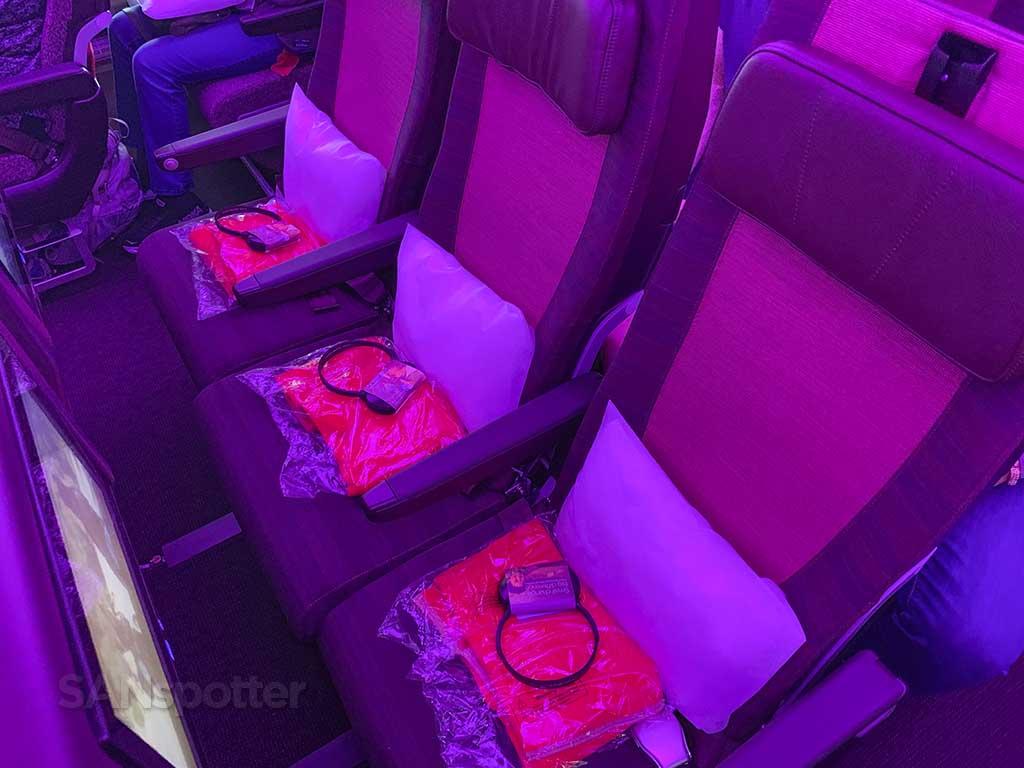 Virgin Atlantic Economy seats