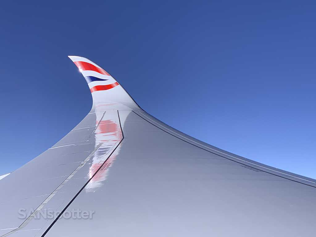 BA A350-1000 winglet