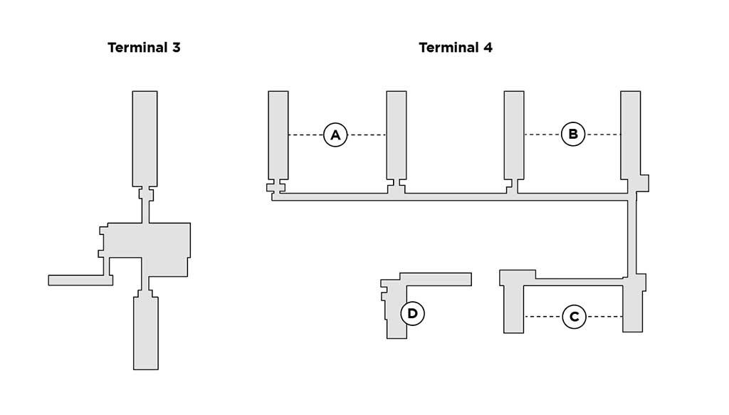 PHX terminal map