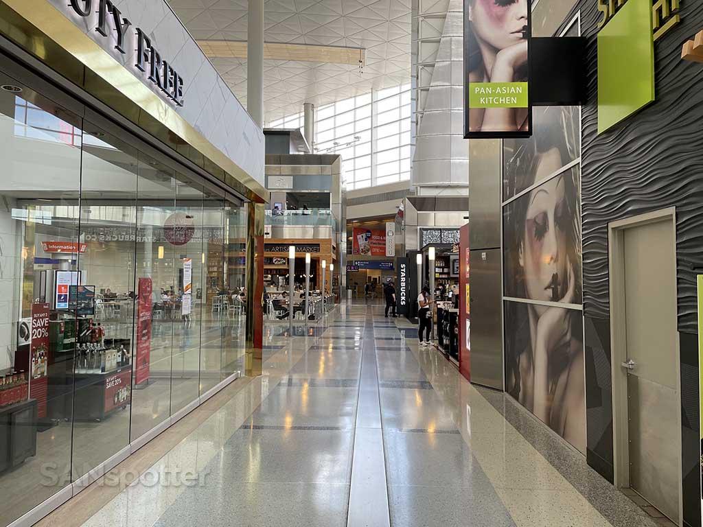 DFW terminal D interior