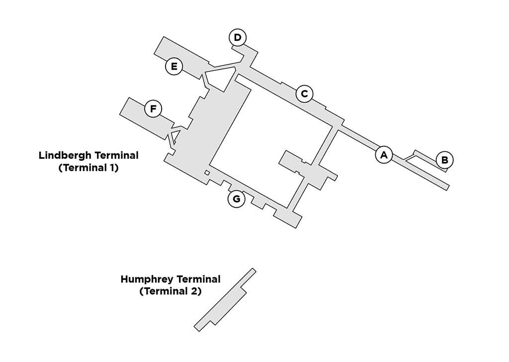 MSP terminal map