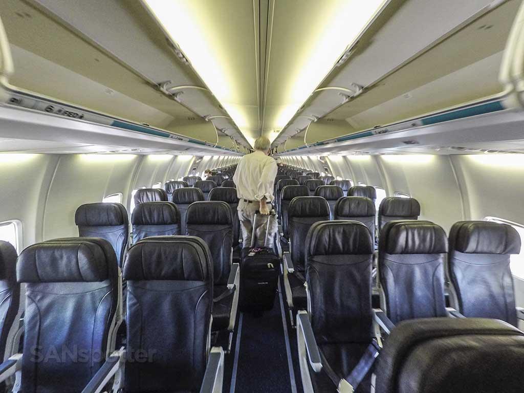 WestJet domestic economy seats