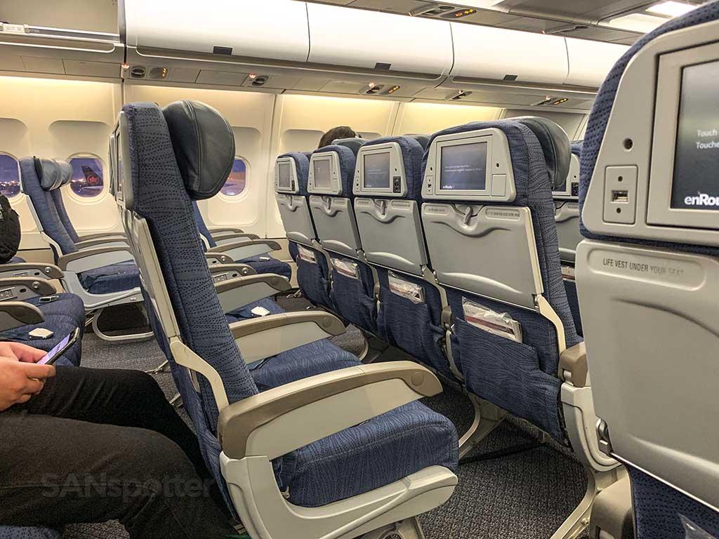 Air Canada A330 economy seat