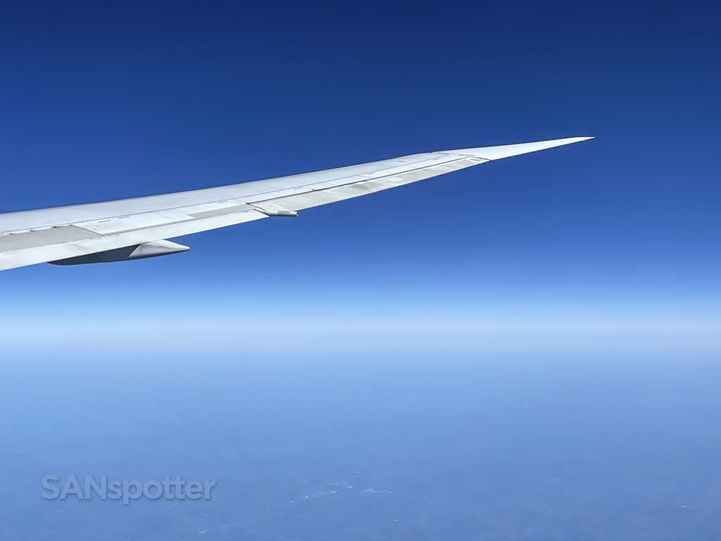 Delta 767-400 wing and winglet