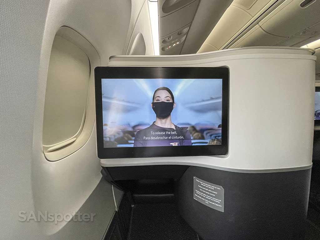 Delta one video screens