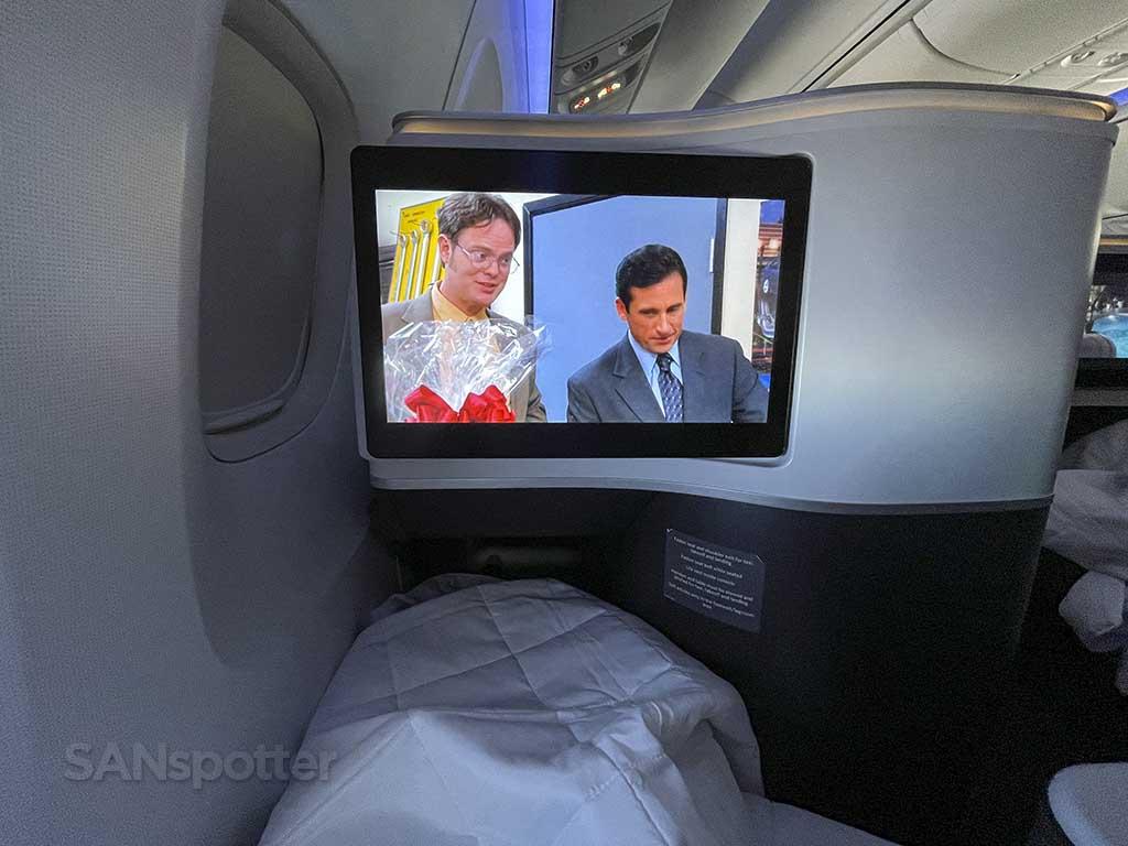 Delta one 767-400 comfort
