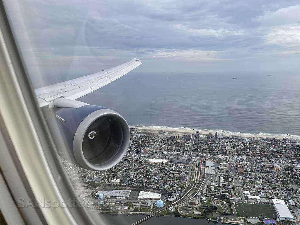 Landing at JFK Airport