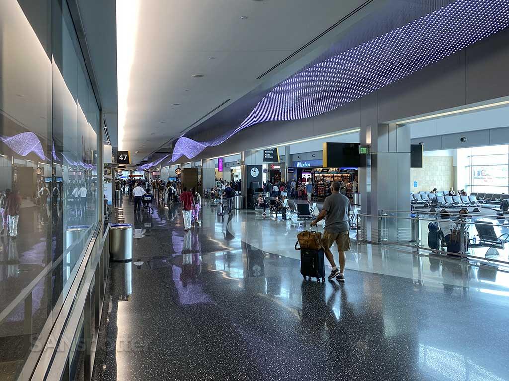 Terminal 2 west interior San Diego airport