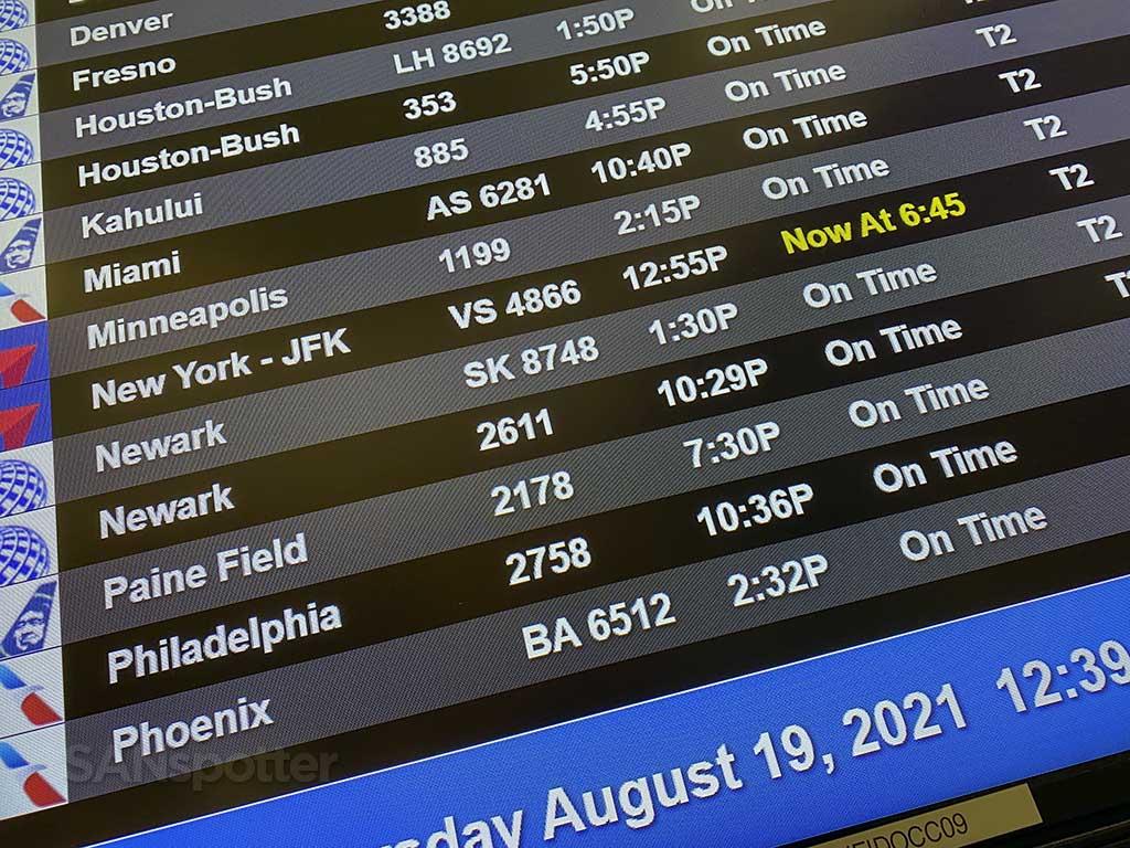 Delta flight delay San Diego airport