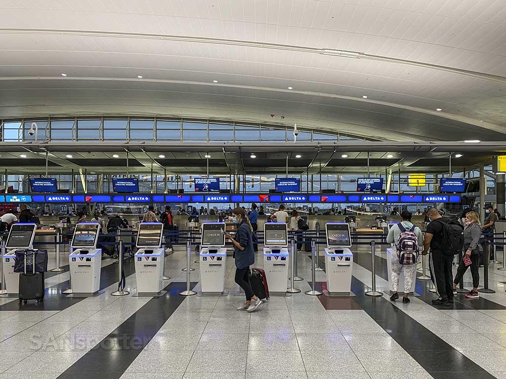 Delta air lines check in terminal 4 JFK