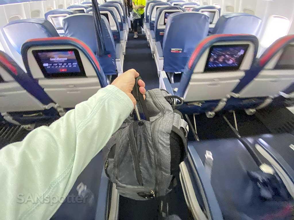 SANspotter carryon bag