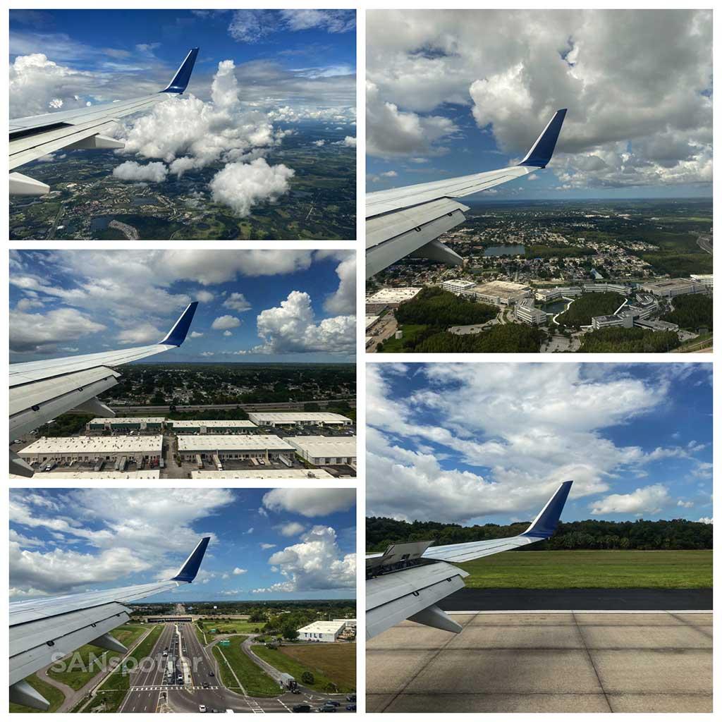 Landing at TPA airport