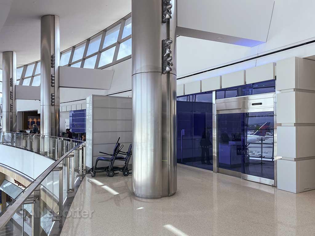 Delta Sky club entrance San Diego airport