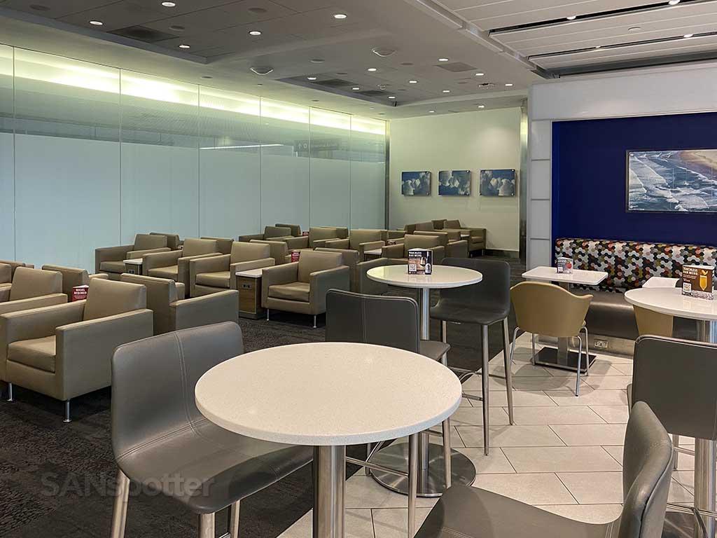 Delta Sky Club interior San Diego airport