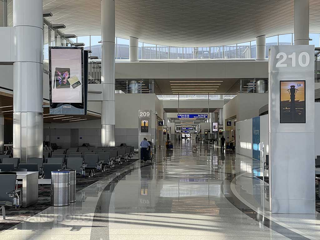 West gates Tom Bradley International Terminal