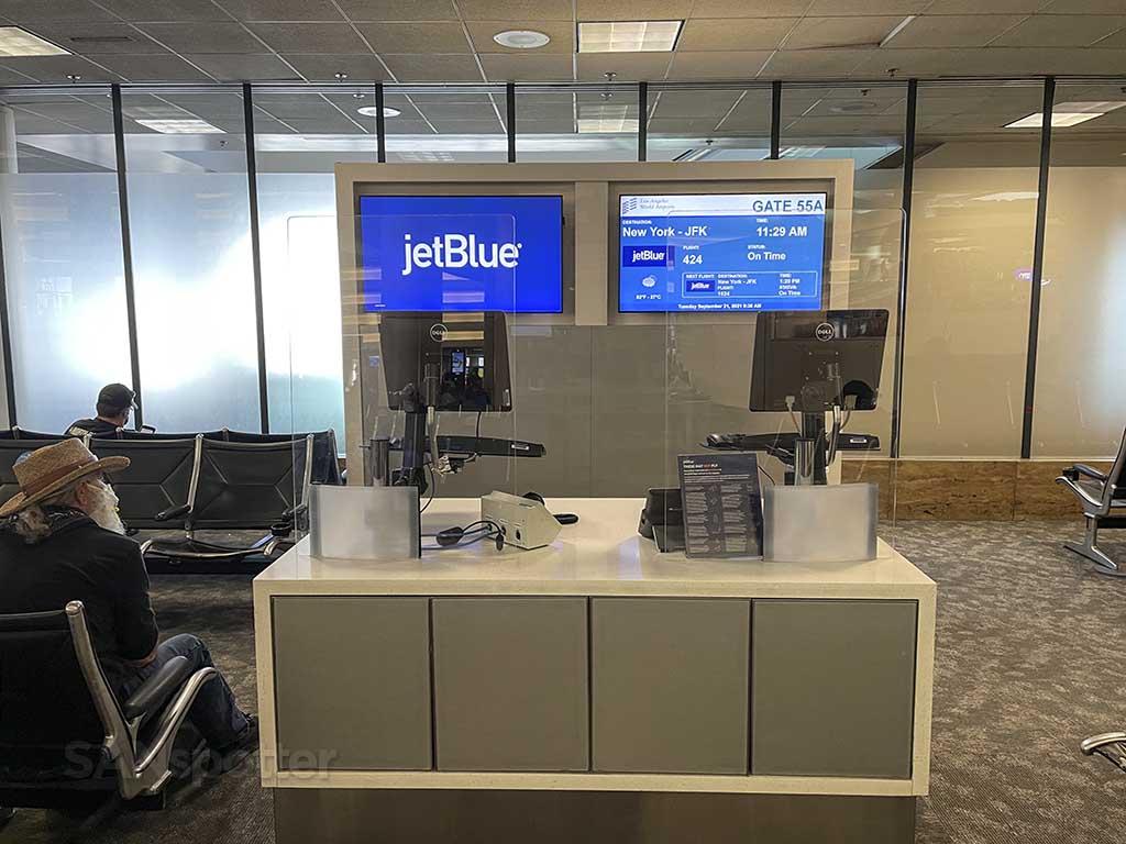 Gate 55A Terminal 5 LAX