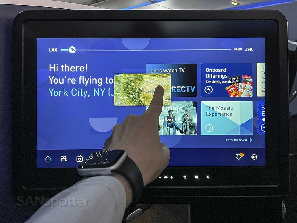 Jetblue Picture in Picture video entertainment