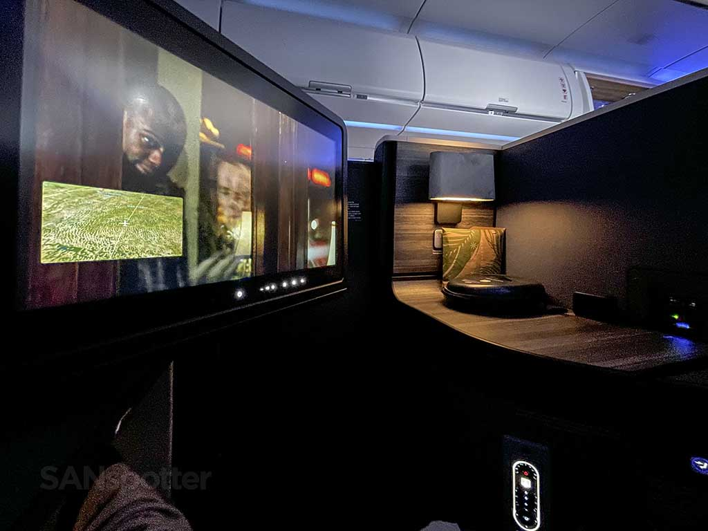 Jetblue mint suites and video screen